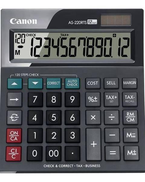Canon Kalkulačka Canon AS-220RTS čierna