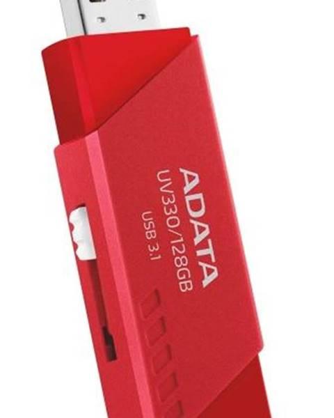 ADATA USB flash disk Adata UV330, 64 GB, červený