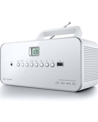 Rádioprijímač s CD MM-28 RDW biely