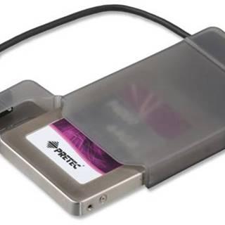 """Box na HDD i-tec MySafe pro 2,5"""" Sata I/II/III SSD, USB3.0 čierne"""