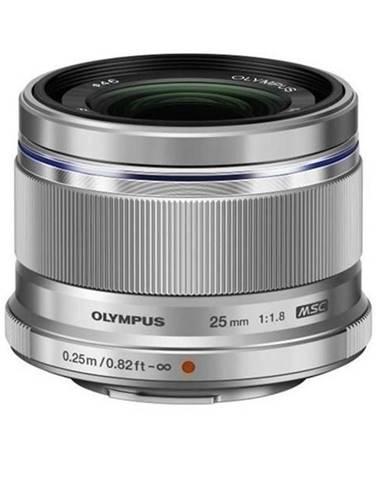 Objektív Olympus Zuiko Digital ES-M2518 strieborn