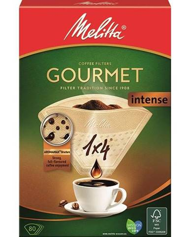 Filter Melitta Gourmer intense 1x4 80 ks