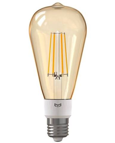 Inteligentná žiarovka Yeelight Smart Filament ST64, E27, 6W, teplá
