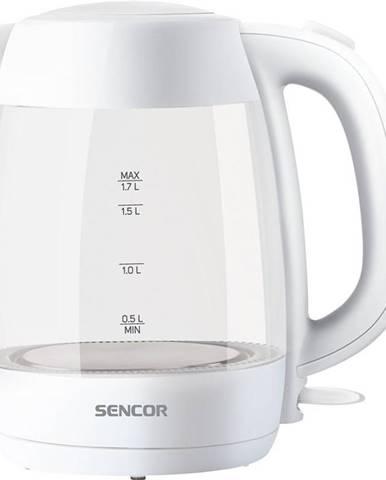 Rýchlovarná kanvica Sencor SWK 7300WH biela