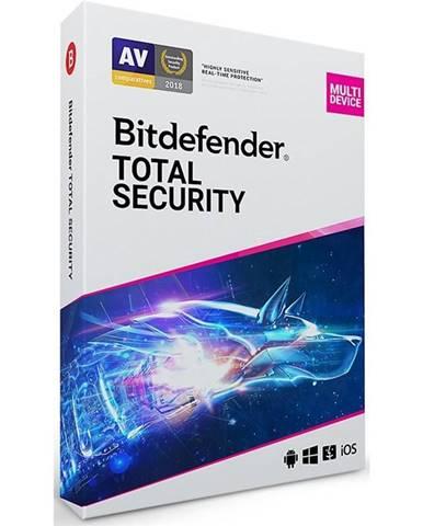 Software  Bitdefender Total Security 5 zařízení