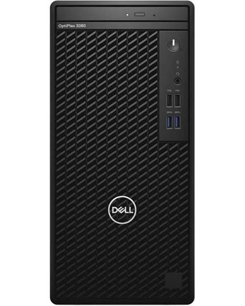 Dell Stolný počítač Dell Optiplex 3080 MT čierny