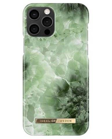 Kryt na mobil iDeal na Apple iPhone 12/12 Pro - Crystal Green Sky