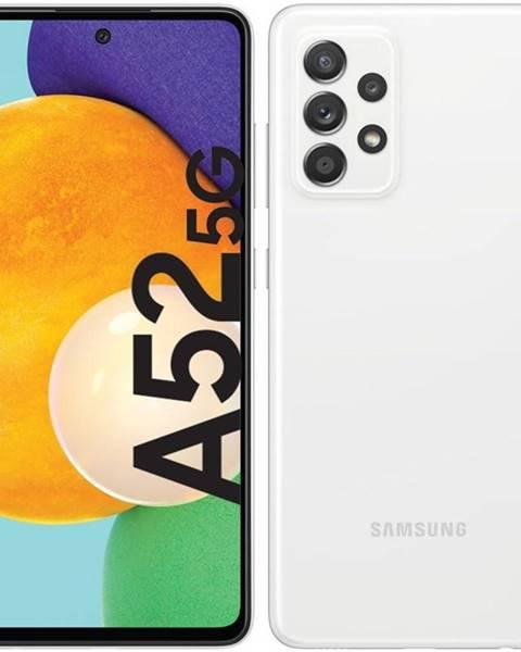 Samsung Mobilný telefón Samsung Galaxy A52 5G biely