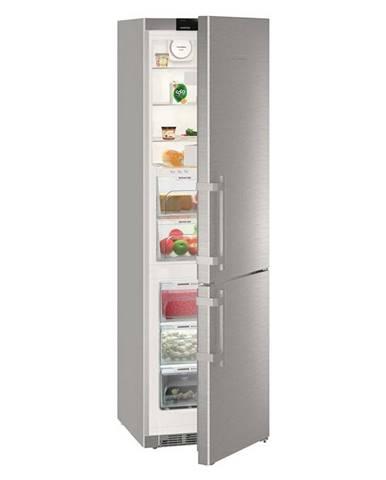 Kombinácia chladničky s mrazničkou Liebherr Kgbnf 2060-3 nerez
