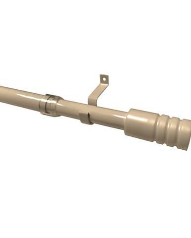 Gardinia Vitrážna tyčka Modern béžová 19 mm, 135 - 225 cm