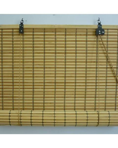 Gardinia Gardinia Roleta bambusová JAVA prír./čokoláda, 80 x 160 cm