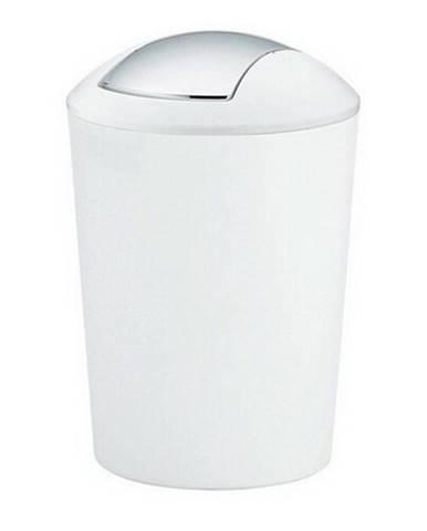 Kela Odpadkový kôš MARTA 5l biela