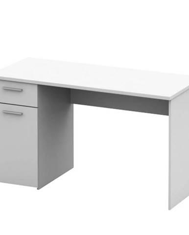 Písací stôl biela EGON