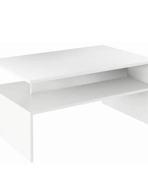 Kondela Konferenčný stolík biela  DAMOLI