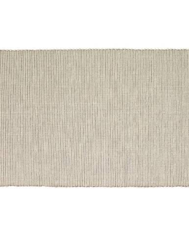 Béžový koberec Hübsch Prissano, 120 × 180 cm
