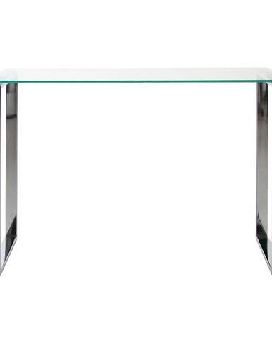 Konzolový stôl so sklenenou doskou Actona Katrine