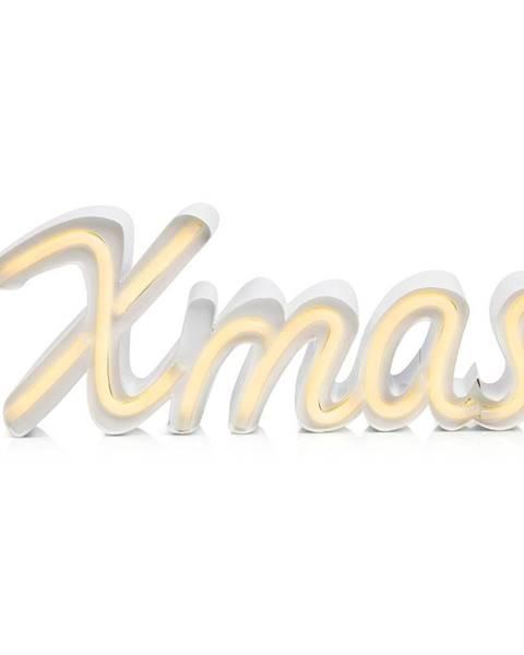 Markslöjd Biela svetelná LED dekorácia Markslöjd Xmas, dĺžka 40 cm
