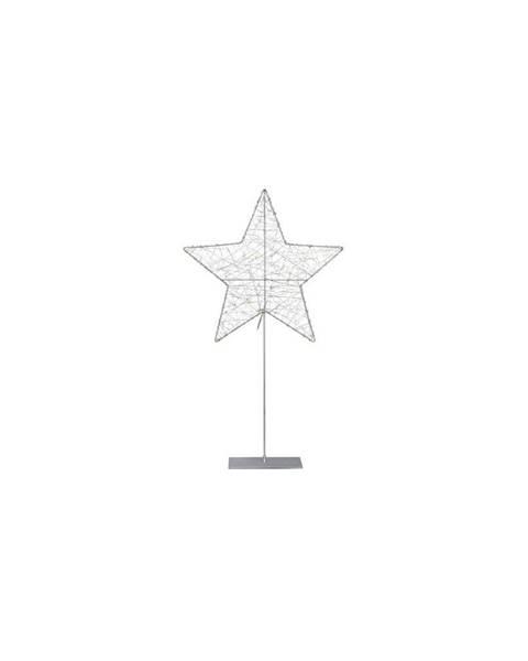 Markslöjd LED svietiaca dekorácia Markslöjd Ronny Silver, výška 60cm