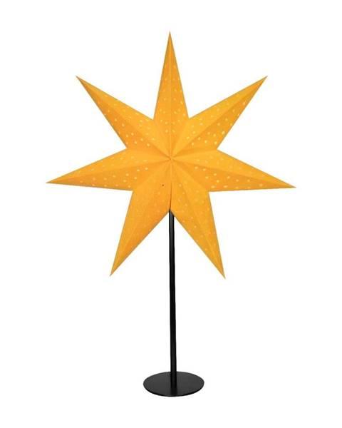 Markslöjd Oranžová svetelná dekorácia Markslöjd Clara, výška 65 cm