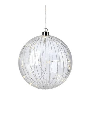 LED svietiaca dekorácia Markslöjd Attarp, ø 18 cm