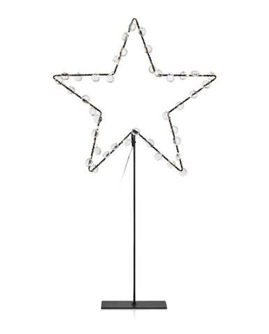 LED svietiaca dekorácia Markslöjd Wivi, výška 53 cm