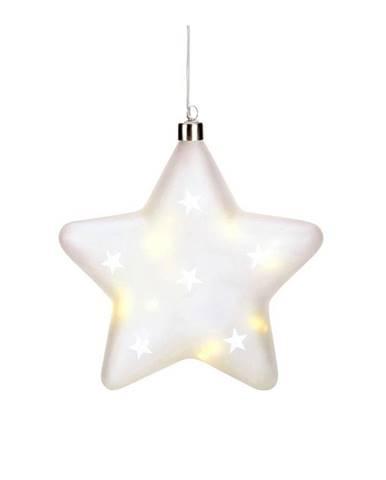 Svetelná LED hviezda Markslöjd Lisette, výška 20 cm
