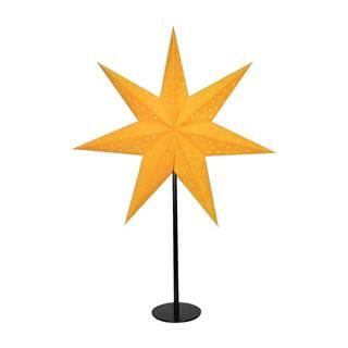 Oranžová svetelná dekorácia Markslöjd Clara, výška 65 cm
