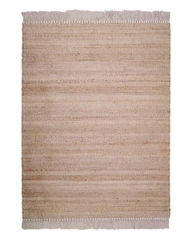 Prírodný ručne vyrobený koberec Nattiot Lenny, 110 x 170 cm