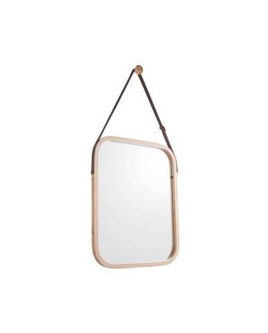 Nástenné zrkadlo v bambusovom ráme PT LIVING Idylic, dĺžka 40,5 cm