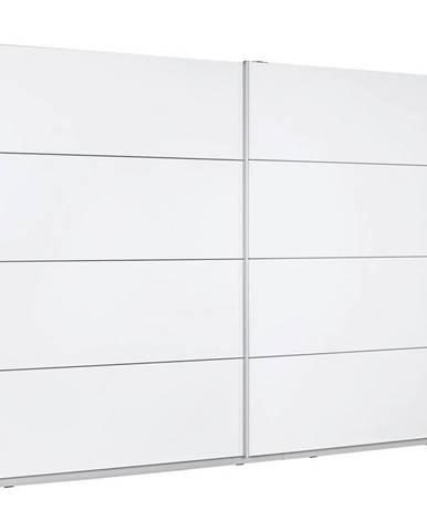 Ti`me SKRIŇA S POSUVNÝMI DVERAMI, biela, 270/210/61 cm - biela