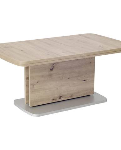 Venda KONFERENČNÝ STOLÍK, strieborná, farby dubu, kompozitné drevo, 110