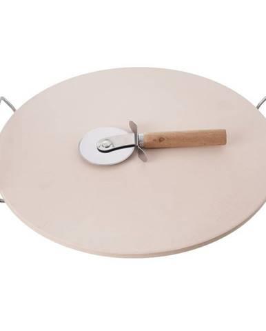 Orion Kameň na pečenie kamenin/drôt + krájač pr. 33 cm