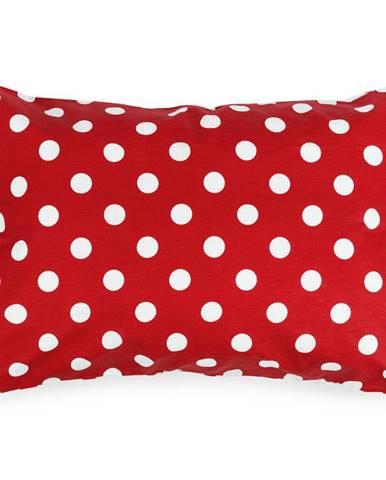 4Home Obliečka na vankúšik Červená bodka, 50 x 70 cm