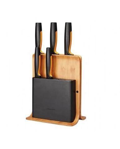 Functional Form Bambusový blok s piatimi nožmi FISKARS 1057552