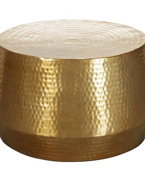 Möbelix Príručný Stolík Mahesh Zlatý