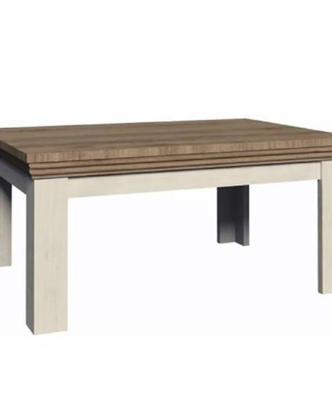 Tempo Kondela Konferenčný stolík sosna nordická/dub divoký ROYAL LN