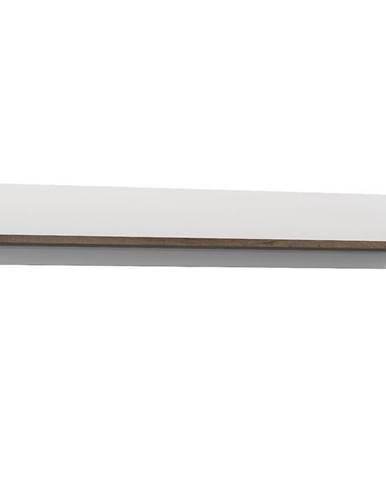 Závesná polica White Sea dub šľachtený/biely lesk