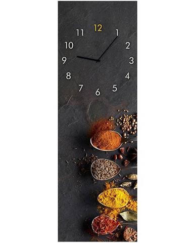 Sklenené hodiny 20X60 SPICES