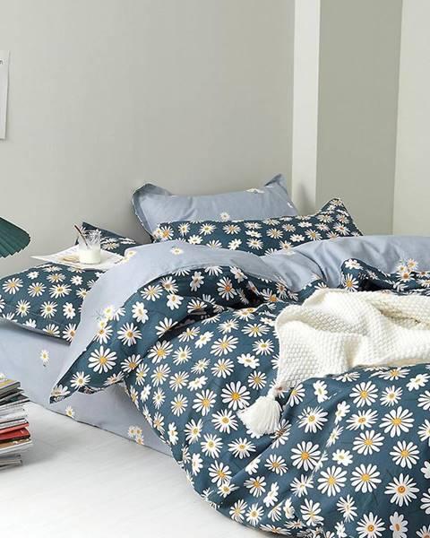 MERKURY MARKET Bavlnená saténová posteľná bielizeň ALBS-01208B 160X200