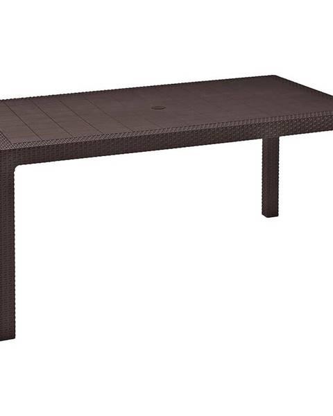 MERKURY MARKET Stôl Melody hnedý 74x94x160
