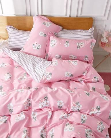 Bavlnená saténová posteľná bielizeň ALBS-01058B 200X220