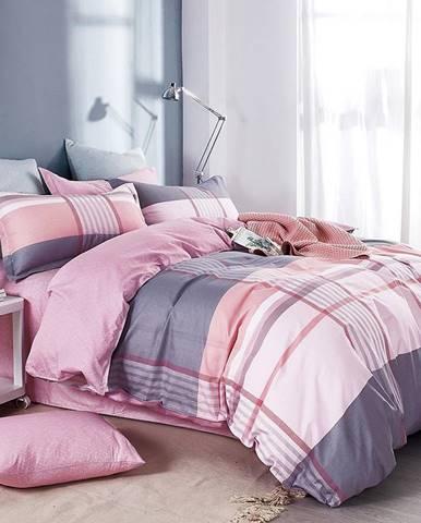 Bavlnená saténová posteľná bielizeň ALBS-01152B 200X220