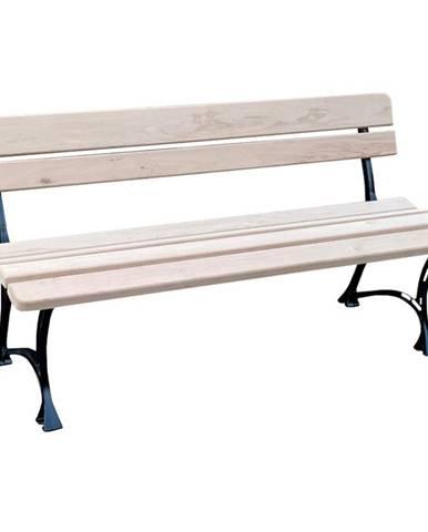 Královská zahradní lavička přírodní dřevo