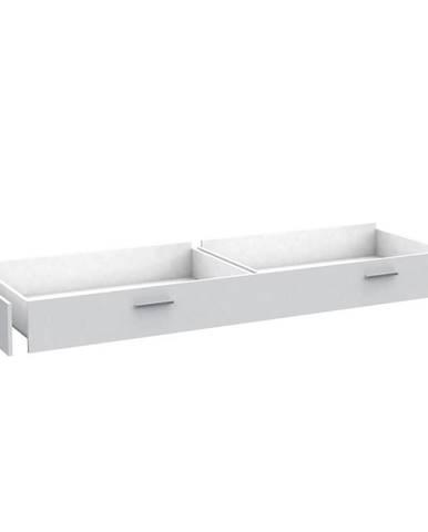 Zásuvka Snow SNWL01 k posteli ZNWL09 biely mat