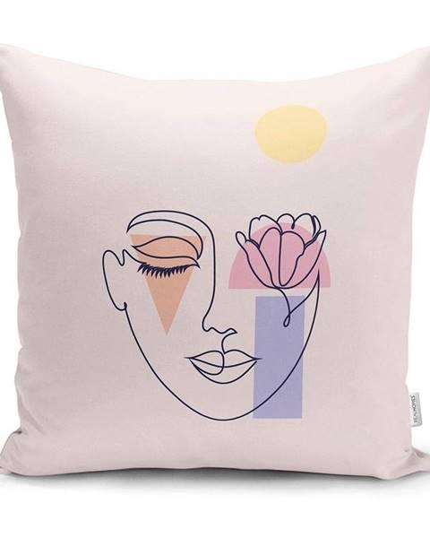 Minimalist Cushion Covers Obliečka na vankúš Minimalist Cushion Covers Post Modern Drawing, 45 x 45 cm