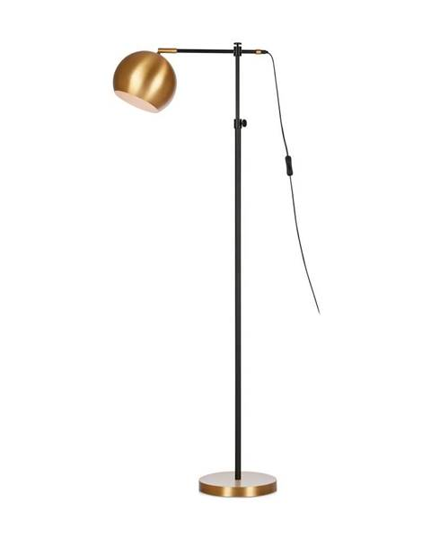 Markslöjd Čierno-bronzová voľne stojacia lampa Markslöjd Chester