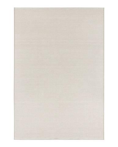 Krémovobéžový koberec vhodný aj na von Elle Decor Secret Millau, 140×200 cm