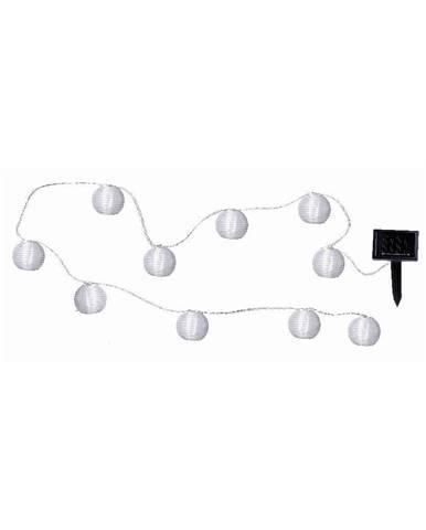 Svetelná LED reťaz vhodná do exteriéru Best Season Lampions, 10 svetielok