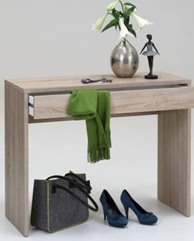 Písací/kozmetický stôl Checker, dub sonoma%