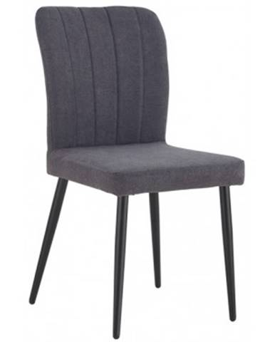 Jedálenská stolička Padua, tmavo šedá látka%
